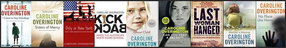 Last Woman Hanged Louisa Collins Caroline Overington books