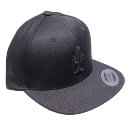 Murdered-Out Cactus (Dad Hat)