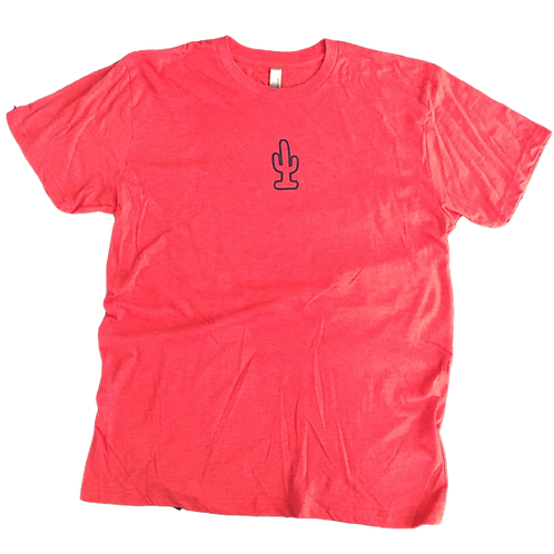Cactus Tee (Red/Navy)