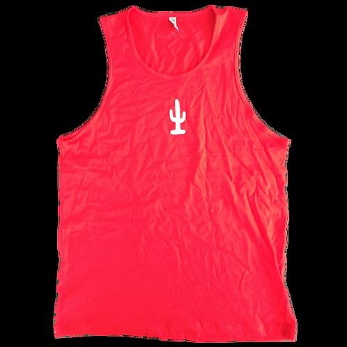 Cactus Tank (Red/White)