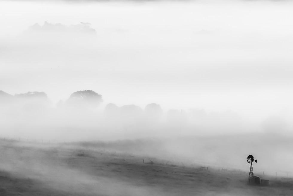"""""""Misty Morning Windmill"""""""