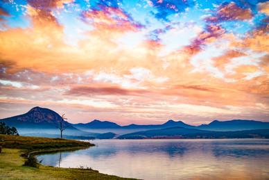 Sunrise Lake Moogerah