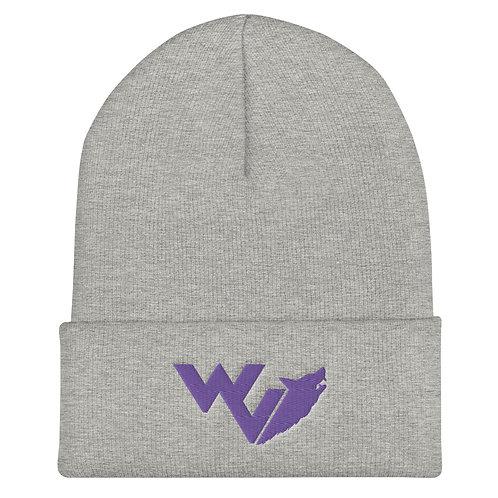 Wolf Valley Logo Beanie