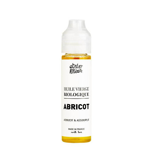 Huile vierge de noyau d'Abricot Bio