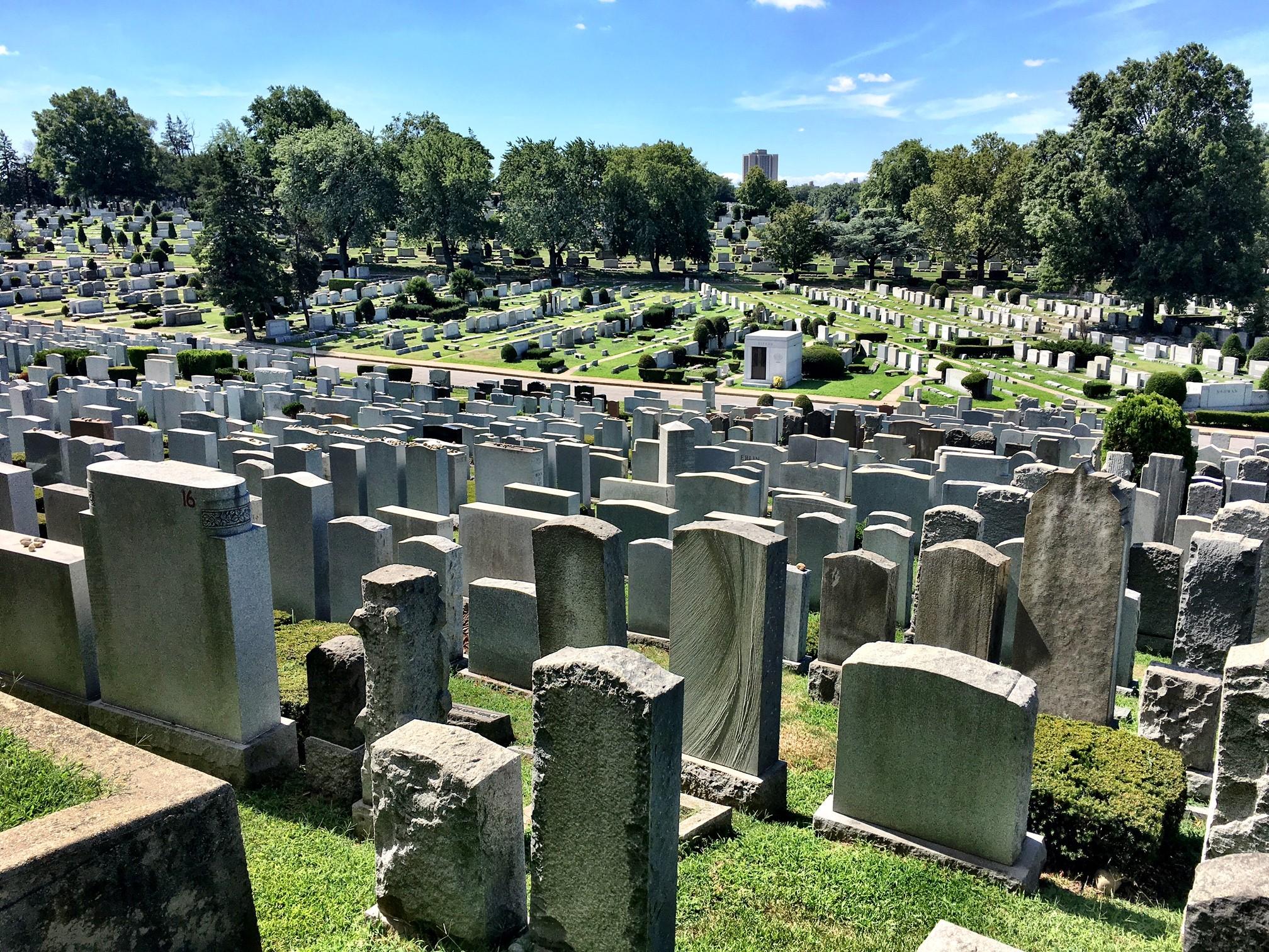 Mt. Hebron Cemetery, New York