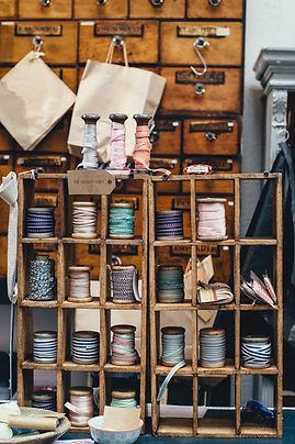 Magasin de fournitures de couture