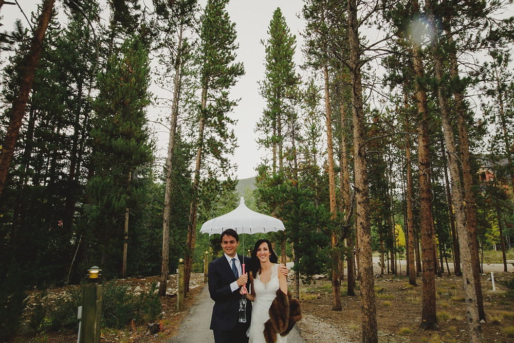 Keystone Wedding Planner - Bride and groom in Keystone, Colorado