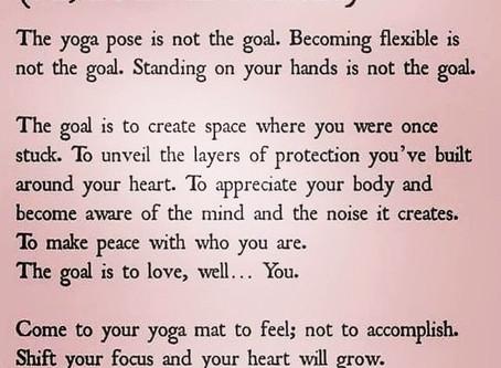 Yoga goal ✨