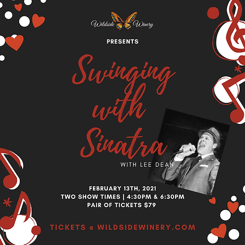 4:30 Show - Swinging with Sinatra Ticket for Two