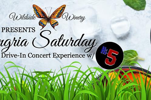 Sangria Saturday: Drive-In Concert Experience w/ Hi-Five | June 5th
