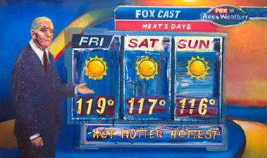 6/28/2013, Arizona: Flagstaff Furnace Oil on Canvas, 24 x 40
