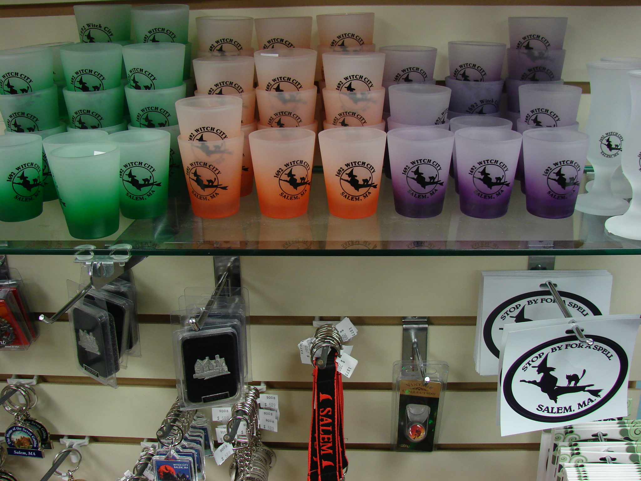 Shot Glass Souvenirs