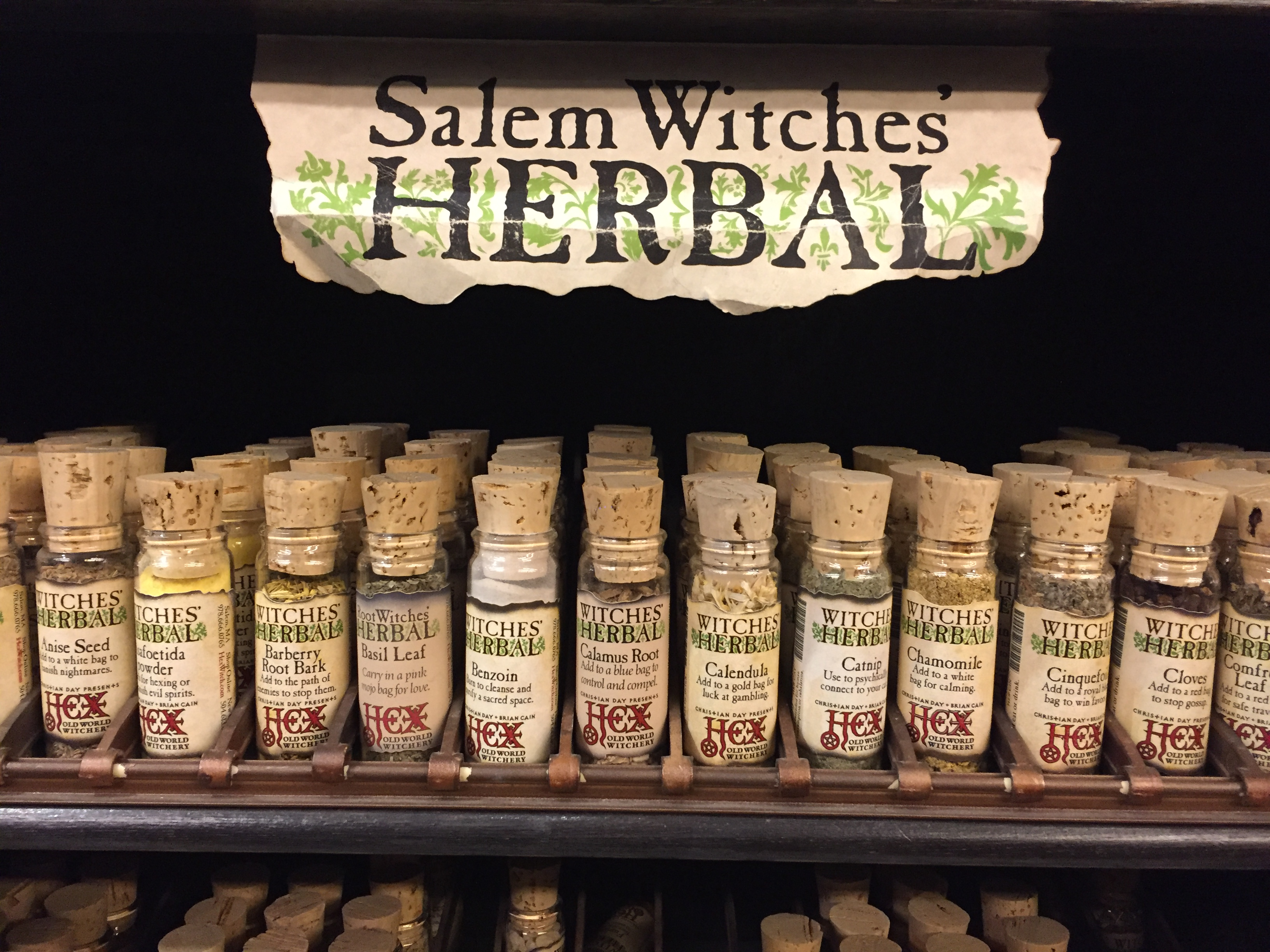 Salem Witch Herbs