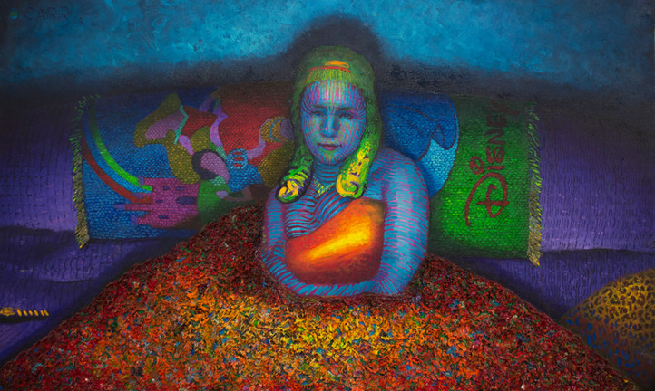 Princess Oil on canvas, 38x62