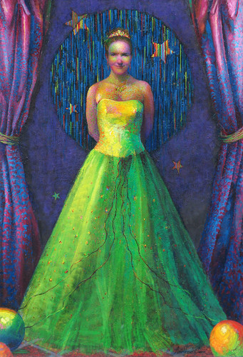 The Queen Oil on canvas, 73x50