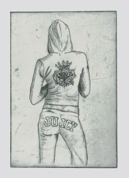 Juicy Etching, 9x6