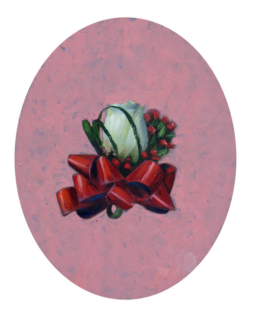 Corsage Oil on canvas