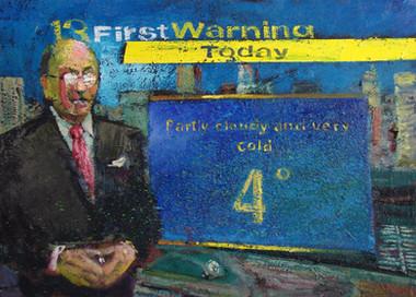 3/04/2014: Baltimore: 4 Below Oil on Canvas, 18 x 25