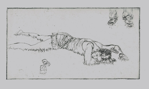 Fucked Up Etching, 5x9