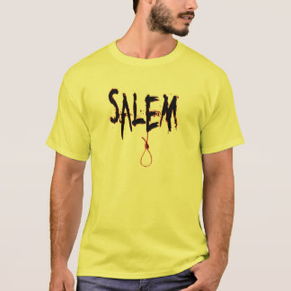 Salem Tee Shirt with Noose/Blood