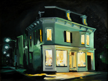 After Hours, Oil on canvas, 30x40.jpg