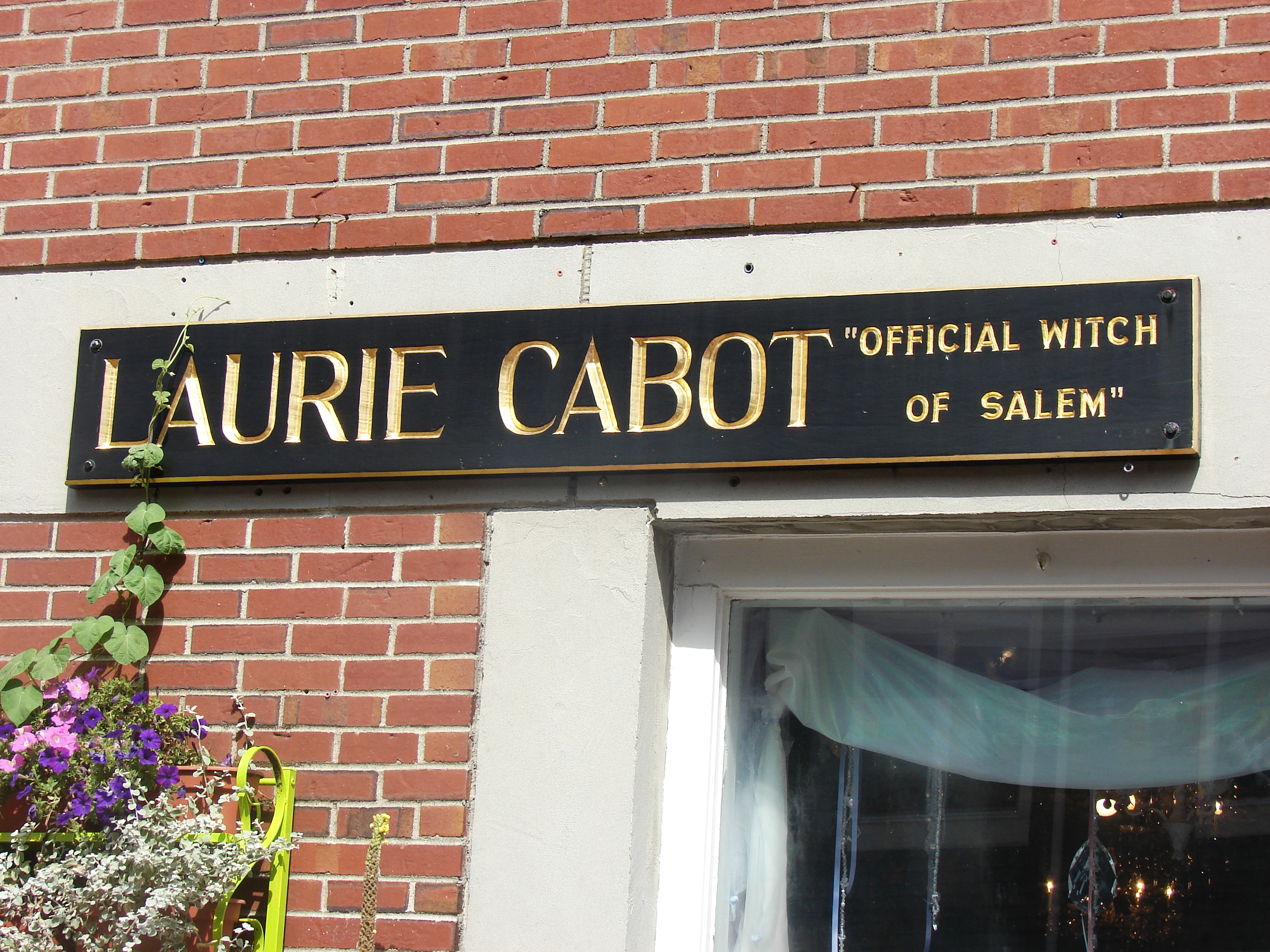 Laurie Cabot Official Witch Sign