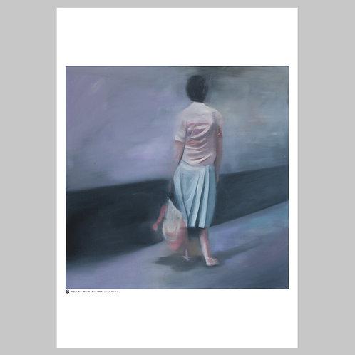 Waiting | Art Poster