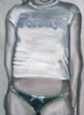Markus Boesch / Tommy - 51 cm x 70 cm Oil on Canvas