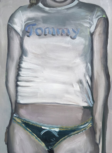 Markus Boesch / Tommy - 51 cm x 70 cm Oil on Canvas