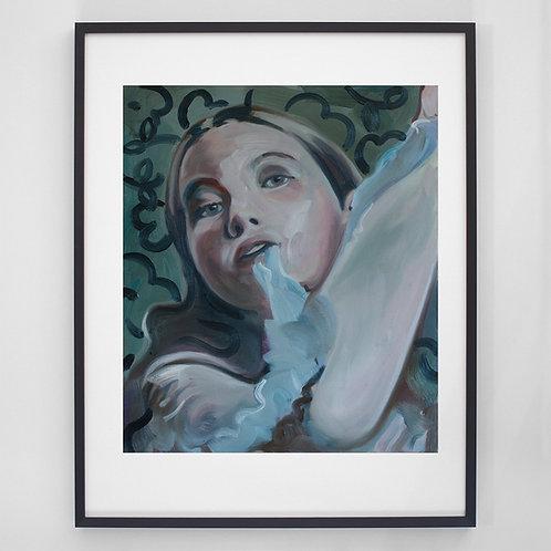 Untitled | Digitaldruck mit Rahmen