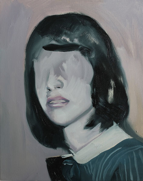 Markus Boesch / If we were conscious - 40 cm x 50 cm Oil on Canvas