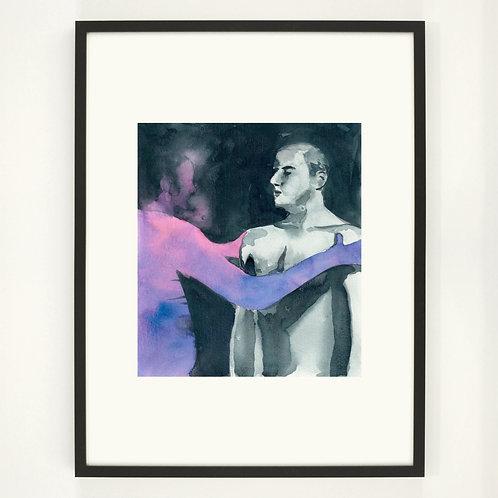 The Fighter | Digitaldruck 30 x 40 cm