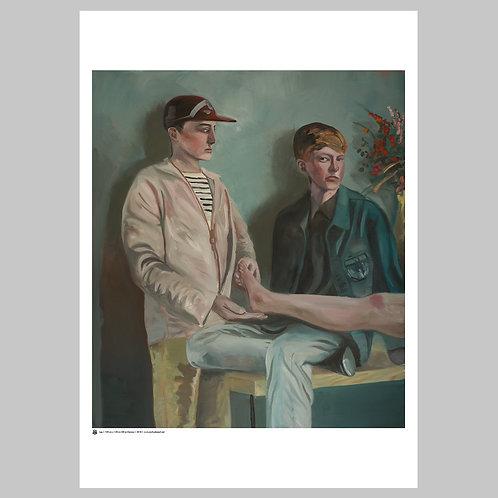 Leg | Art Poster
