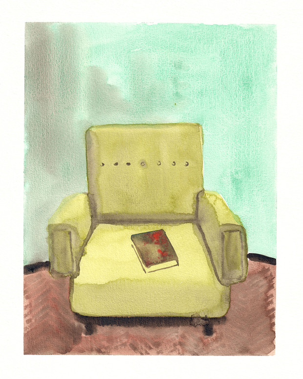 Old traveling couch dreams of somewhere