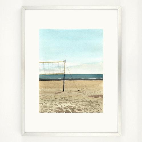 The Beach | Digitaldruck 30 x 40 cm