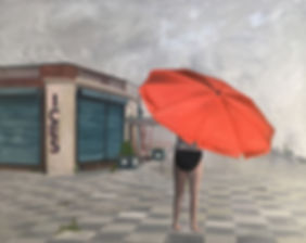 Markus Boesch - Fogbath 100 cm x 80 cm Oil on Canvas