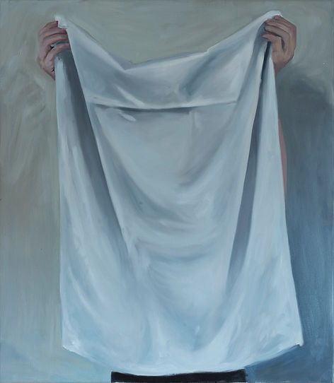 Markus Boesch / Portrait #1 - 80 cm x 70 cm Oil on Canvas
