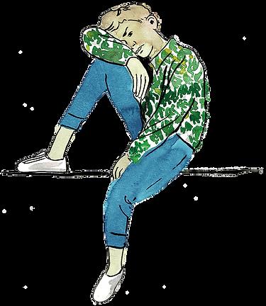 freigestellt boy in green yellow shirt 3