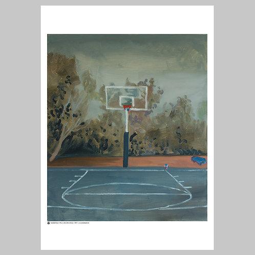 Basketball Court | Art Poster