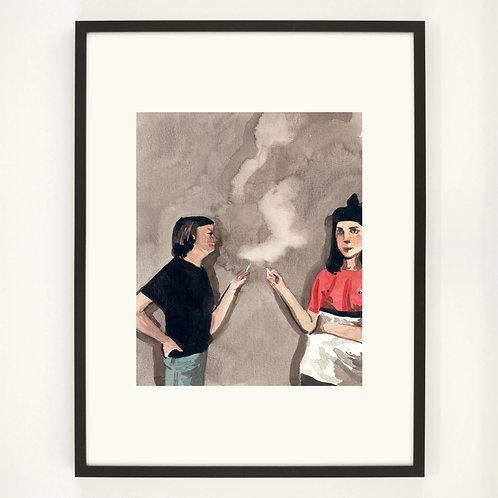 The Friends | Digitaldruck 30 x 40 cm