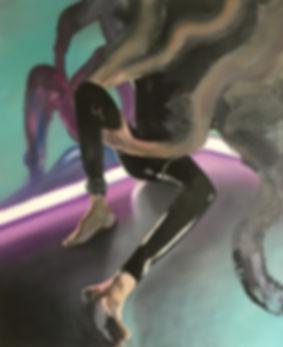 Markus Boesch / In the Corner - 80 cm x 100 cm Oil on Canvas