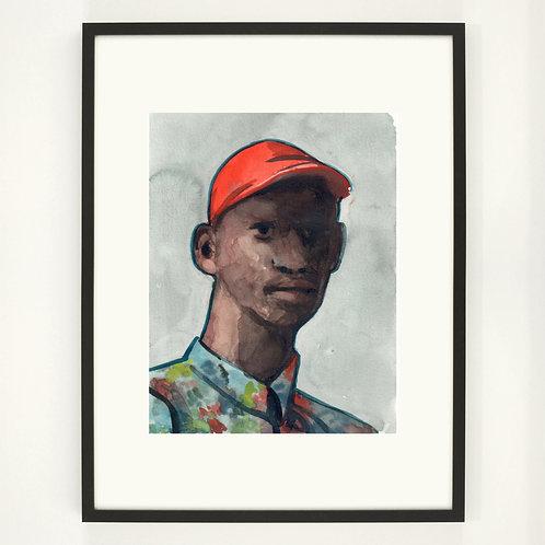 A short view |  Digitaldruck 30 x 40 cm