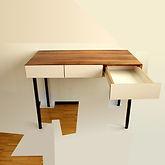 TABLE DRAWER SPHERE 2012 Markus Boesch Bösch Art Kunst Maler Painter Paintings Artist Furniture design