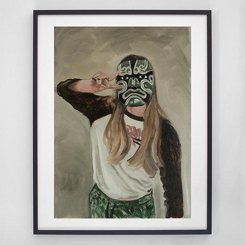 Portrait #2 | Digitaldruck mit Rahmen