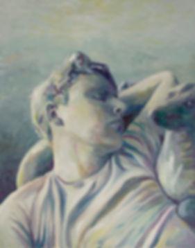 Markus Boesch - Träumer - 70 cm x 55 cm Oil on Canvas