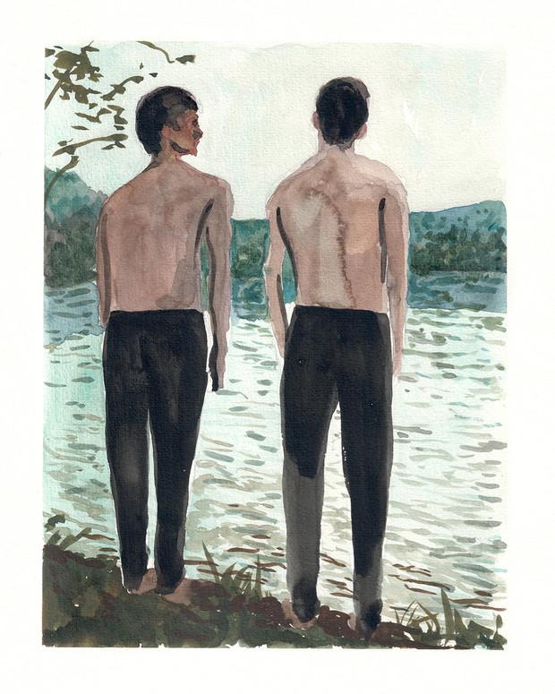 The day at the lake