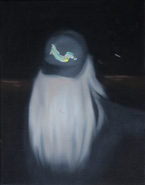 Markus Boesch - Ghosts of the Night 46 cm x 36 cm Oil on Canvas
