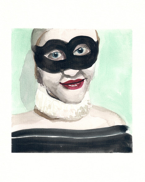 The mask I use often