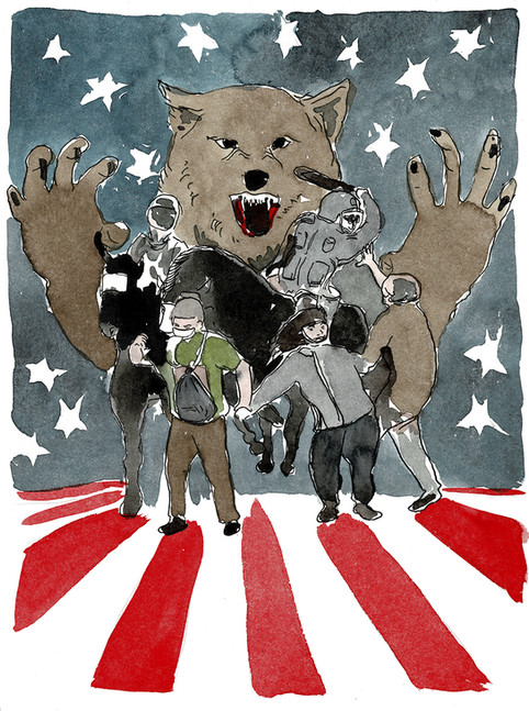 Unter dem Sternenhimmel mit den Wölfen
