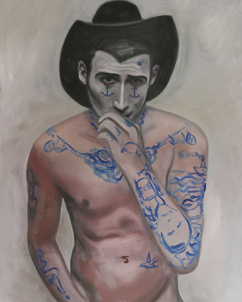 Markus Boesch - Salty Milk - 80 cm x 100 cm Oil on Canvas